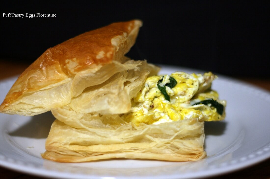 Puff Pastry Eggs Florentine A 11.25.2014