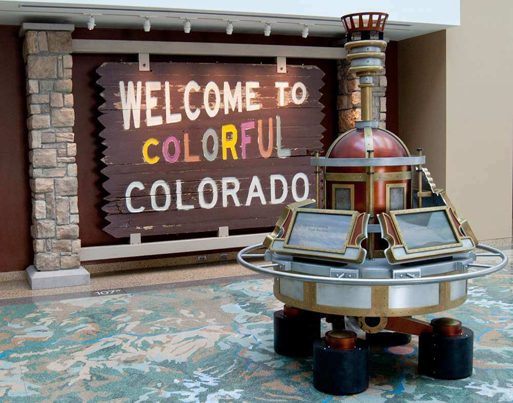 Colorful Colorado Sign